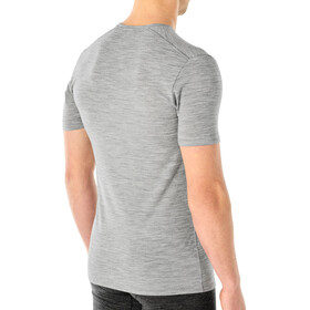 Icebreaker Anatomica SS Crew Top Men metro heather